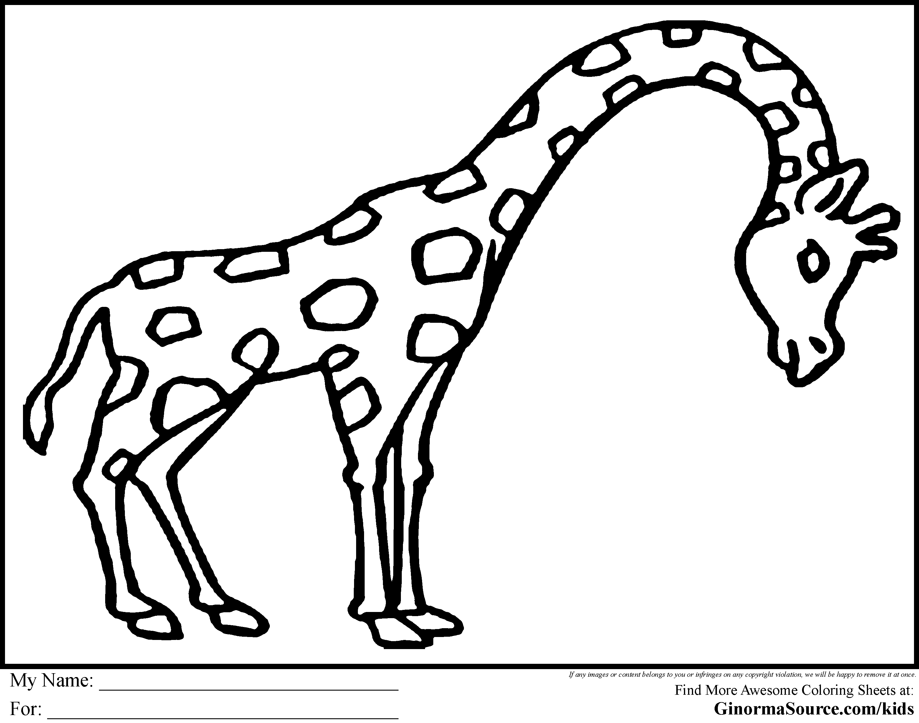 large animal coloring pages zebra coloring pages free printable kids coloring pages pages large animal coloring
