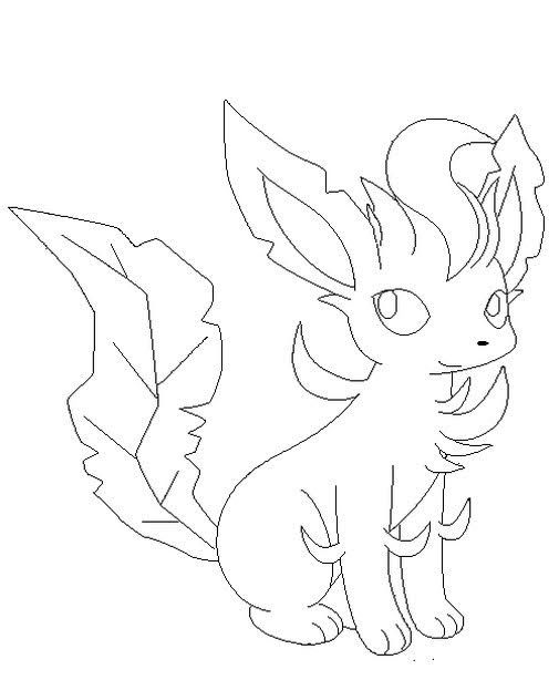 leafeon coloring pages free printable cute leafeon coloring pages to print coloring pages leafeon