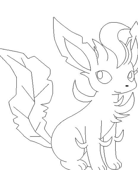 leafeon coloring pages free printable cute leafeon coloring pages to print leafeon coloring pages