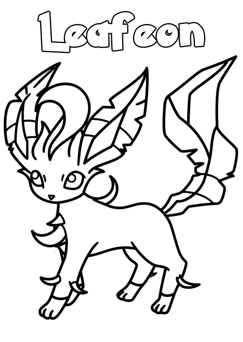 leafeon coloring pages leafeon coloring pages english cardinvitationscyou coloring pages leafeon