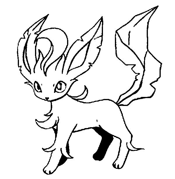 leafeon coloring pages melhor leafeon para colorir desenhos para pintar e colorir leafeon pages coloring
