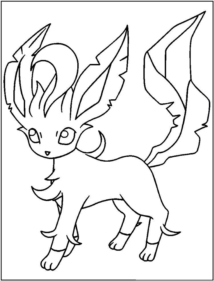 leafeon coloring pages pin on pokemon coloring page pages leafeon coloring