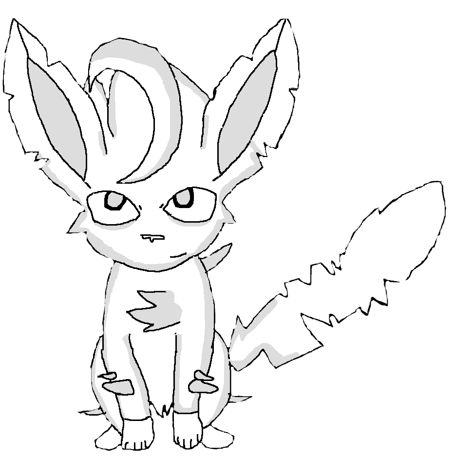 leafeon coloring pages pokemon flareon coloring pages sketch coloring page pages coloring leafeon
