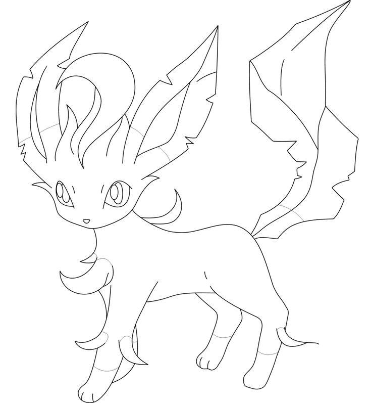leafeon coloring pages pokemon leafeon coloring pages coloring pages coloring pages leafeon