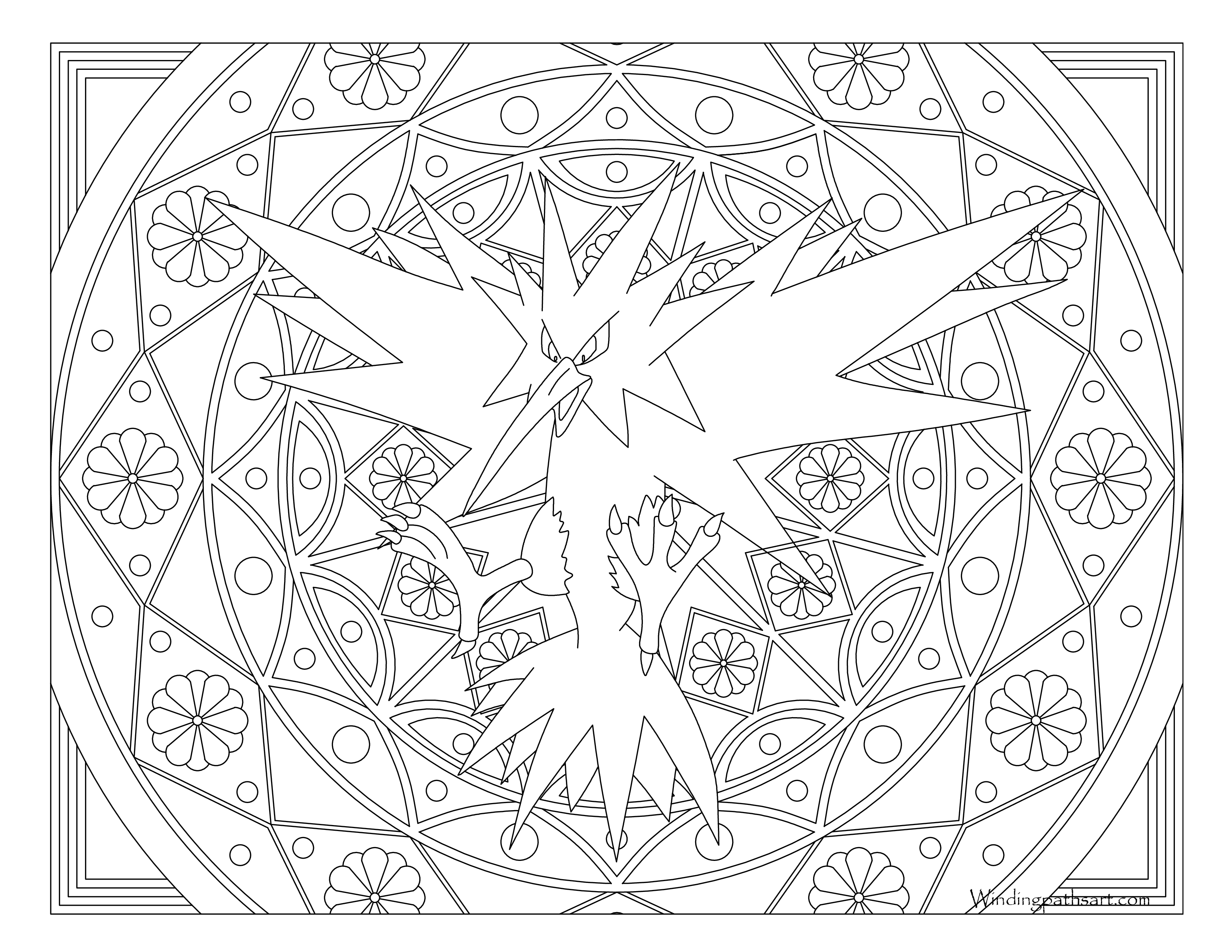 legendary zapdos pokemon coloring pages zapdos pokemon coloring pages printable free pokemon legendary pages coloring pokemon zapdos