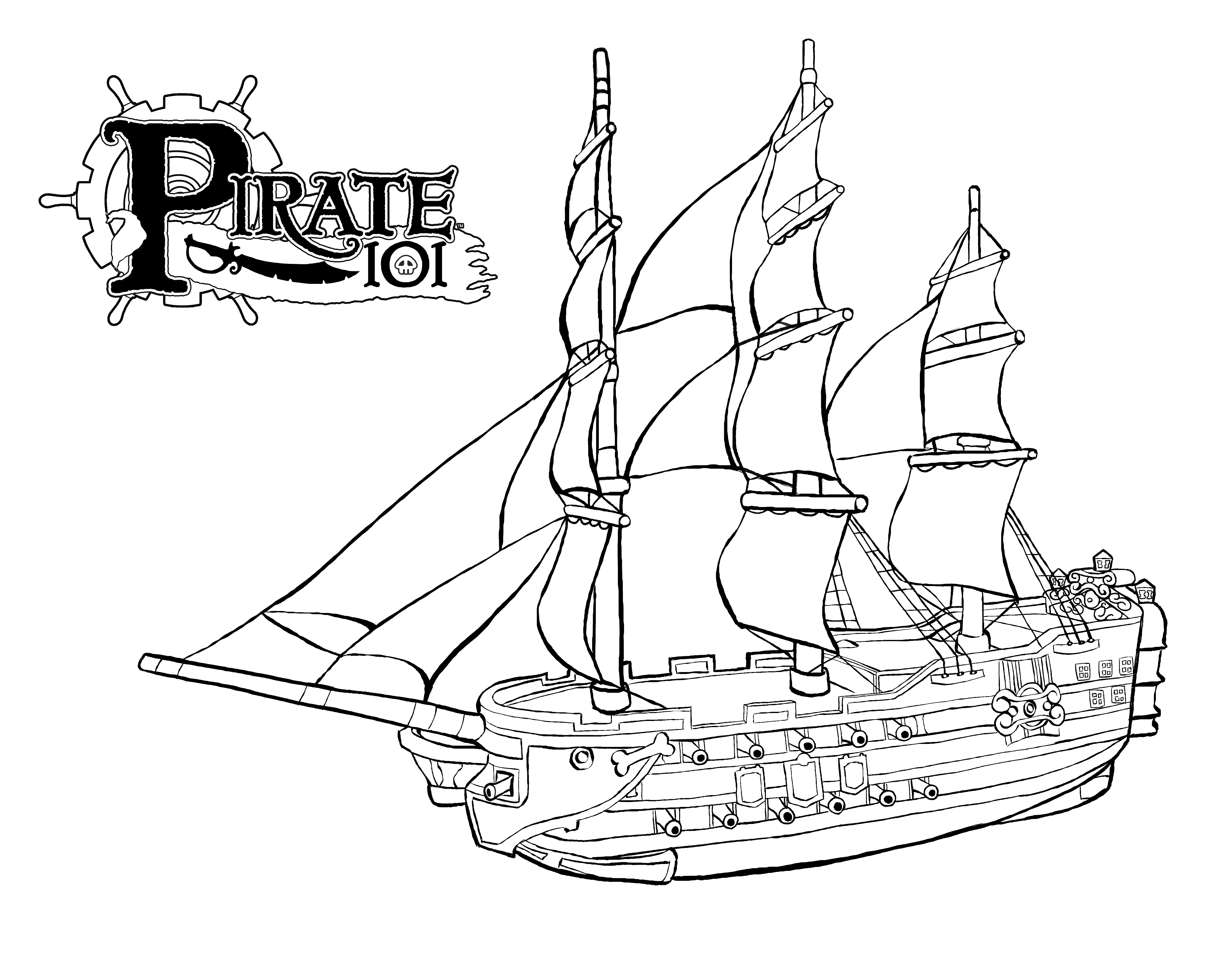 lego boat coloring page coloring pages of a sunken ship coloring home lego coloring boat page