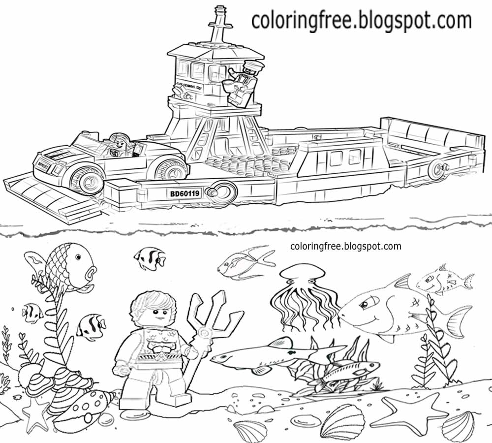 lego boat coloring page free coloring pages printable pictures to color kids boat page lego coloring