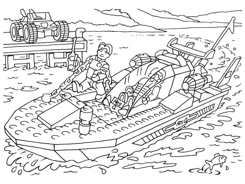 lego boat coloring page lego boat coloring pages 001 coloring lego page boat