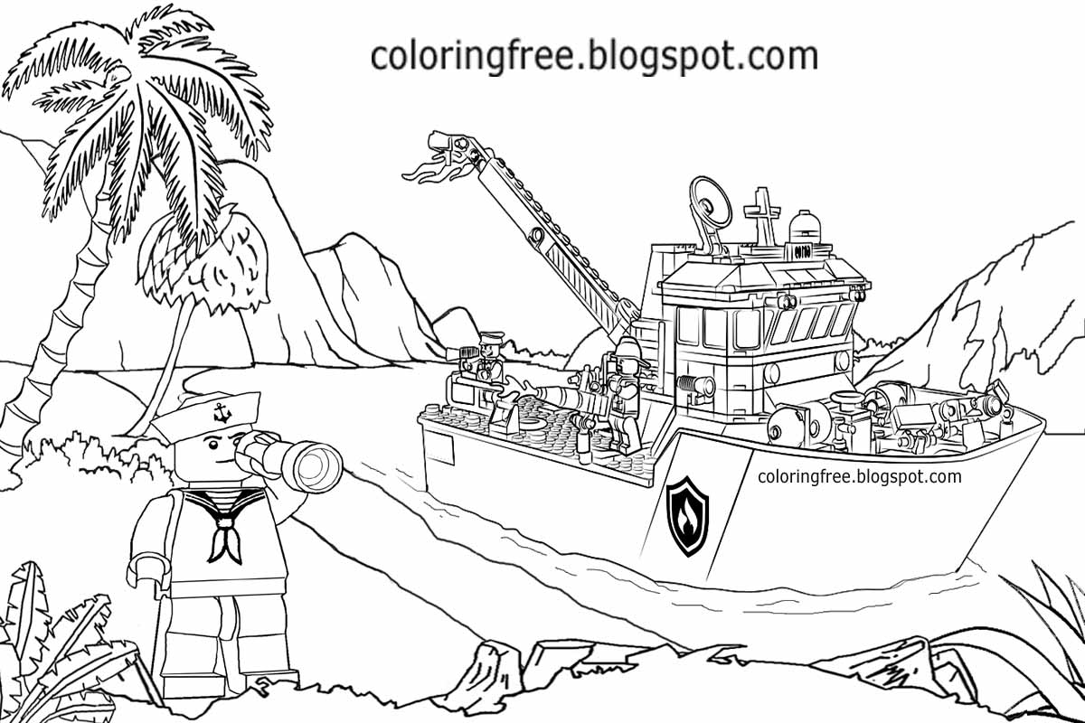 lego boat coloring page lego pirate coloring pages at getcoloringscom free lego page coloring boat