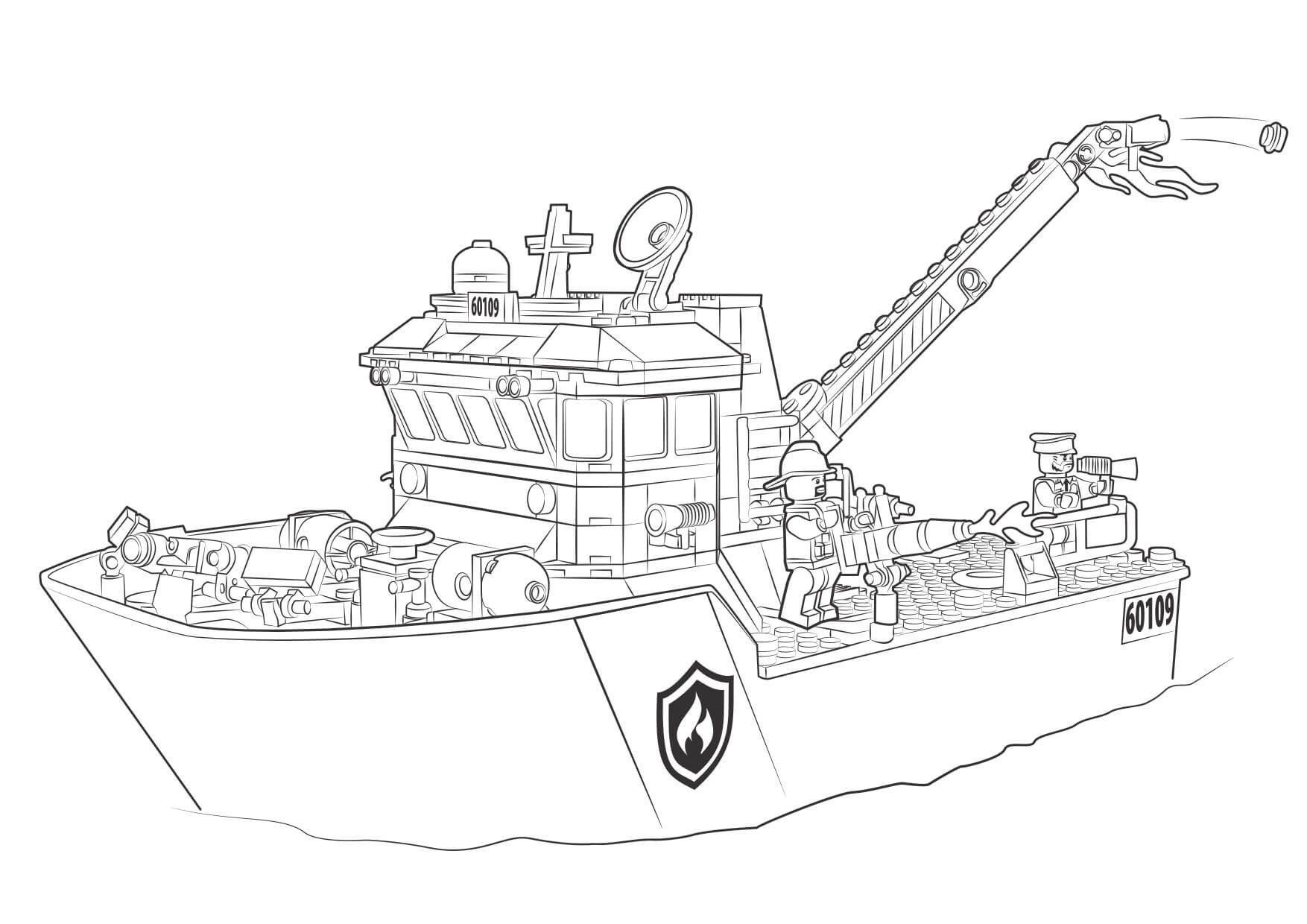 lego boat coloring page lego police boat coloring pages ferrisquinlanjamal coloring lego boat page
