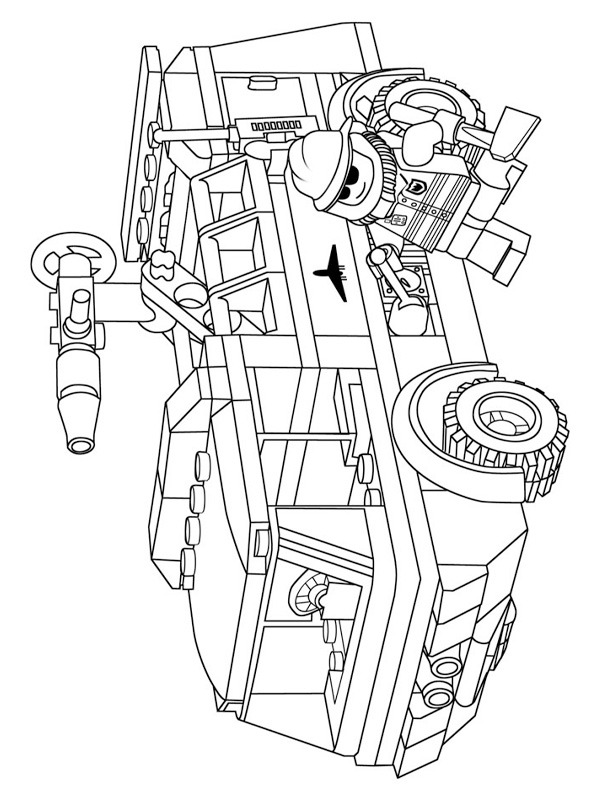 lego fire truck coloring colouring page lego fire truck coloringpageca coloring lego truck fire