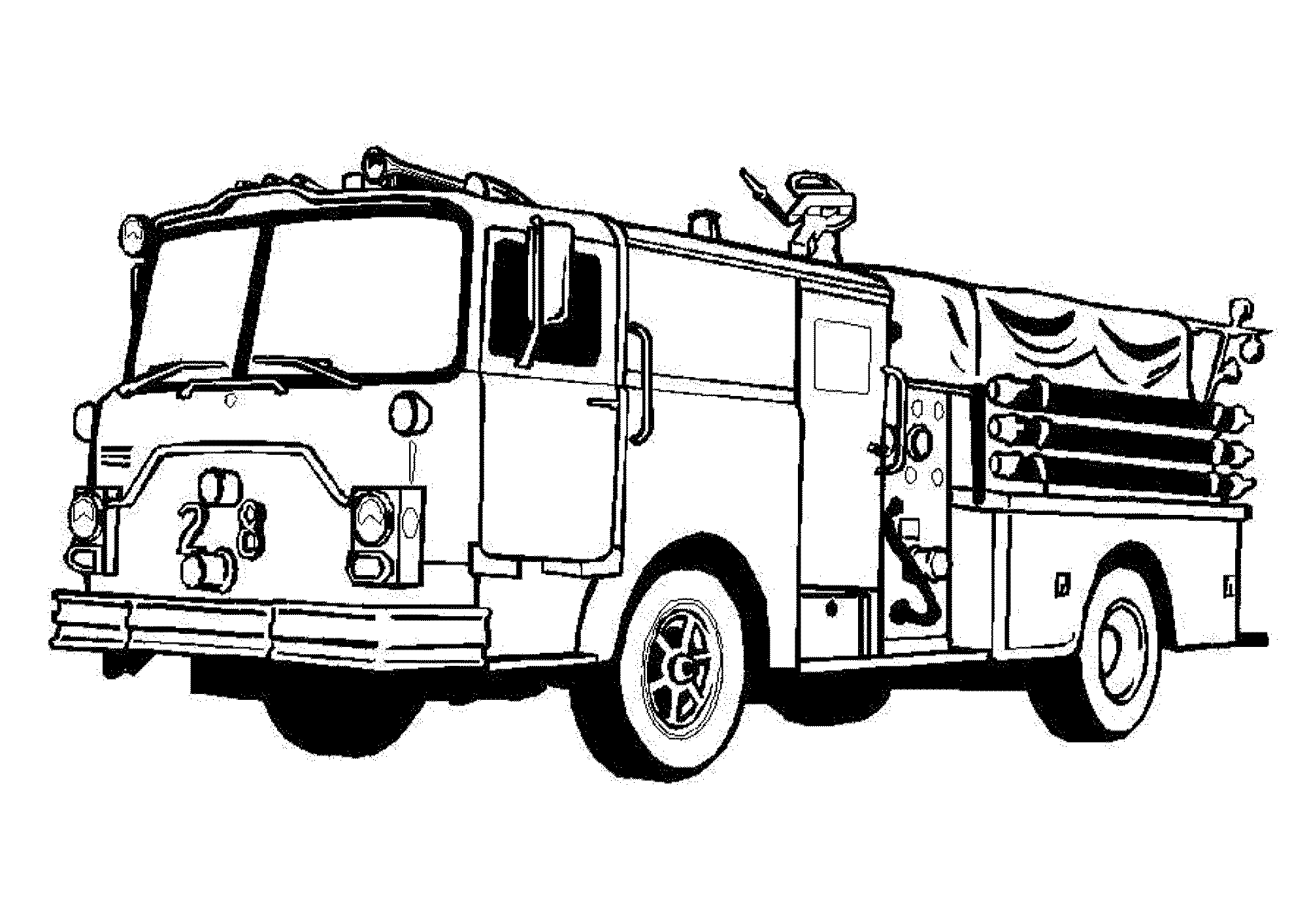 lego fire truck coloring lego truck coloring pages at getcoloringscom free coloring truck fire lego