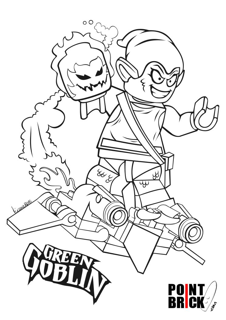 lego green goblin coloring pages learn how to draw lego green goblin lego step by step coloring pages goblin lego green