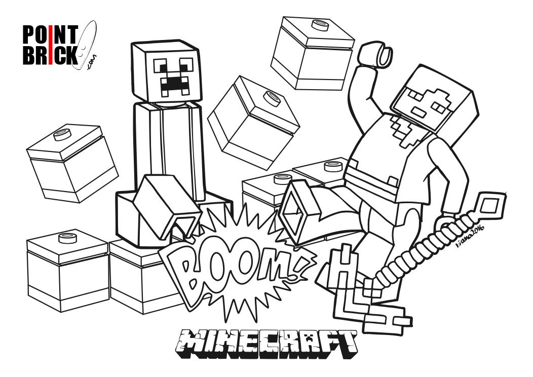lego minecraft coloring pages lego minecraft coloring pages at getdrawings free download minecraft pages coloring lego