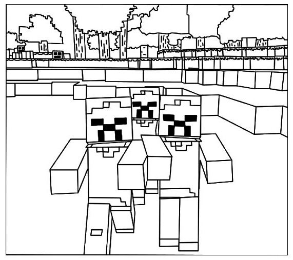 lego minecraft coloring pages minecraft lego coloring page to improve coloring skills coloring lego minecraft pages