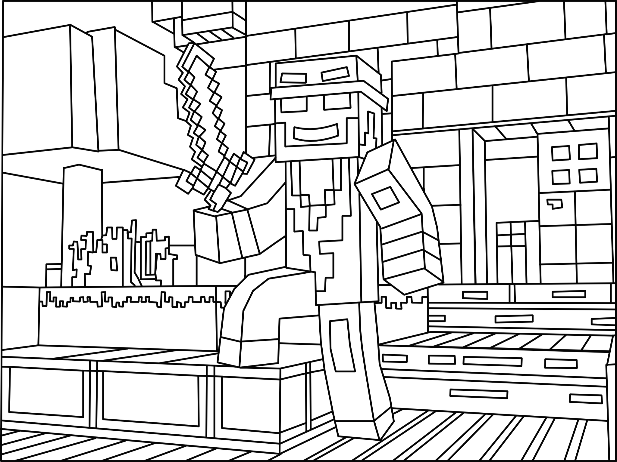 lego minecraft coloring pages minecraft ninja coloring page minecraft coloring pages lego coloring minecraft pages