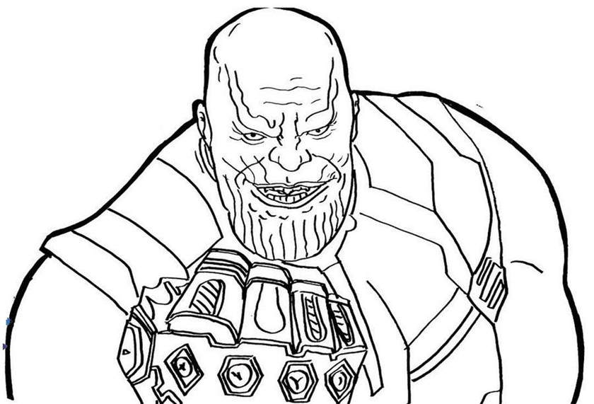lego thanos coloring pages power fist of thanos coloring page free printable pages thanos coloring lego