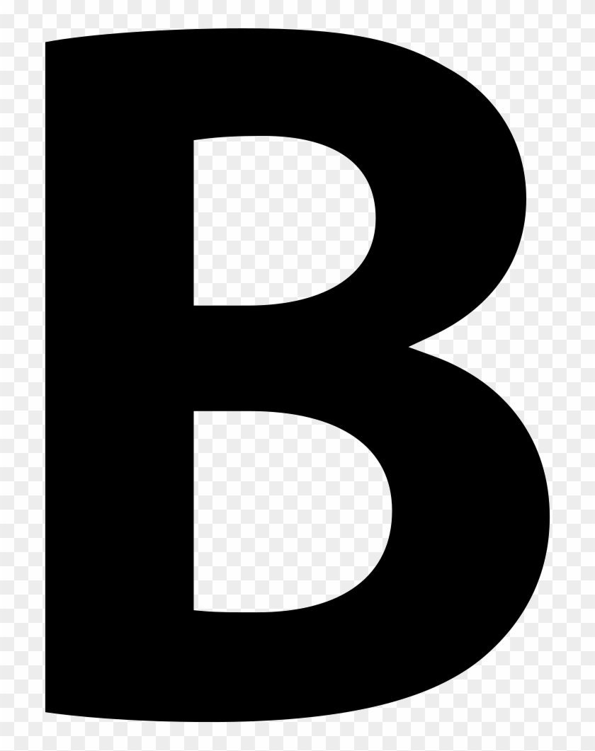 letter b bold button of letter b symbol svg png icon free download b letter