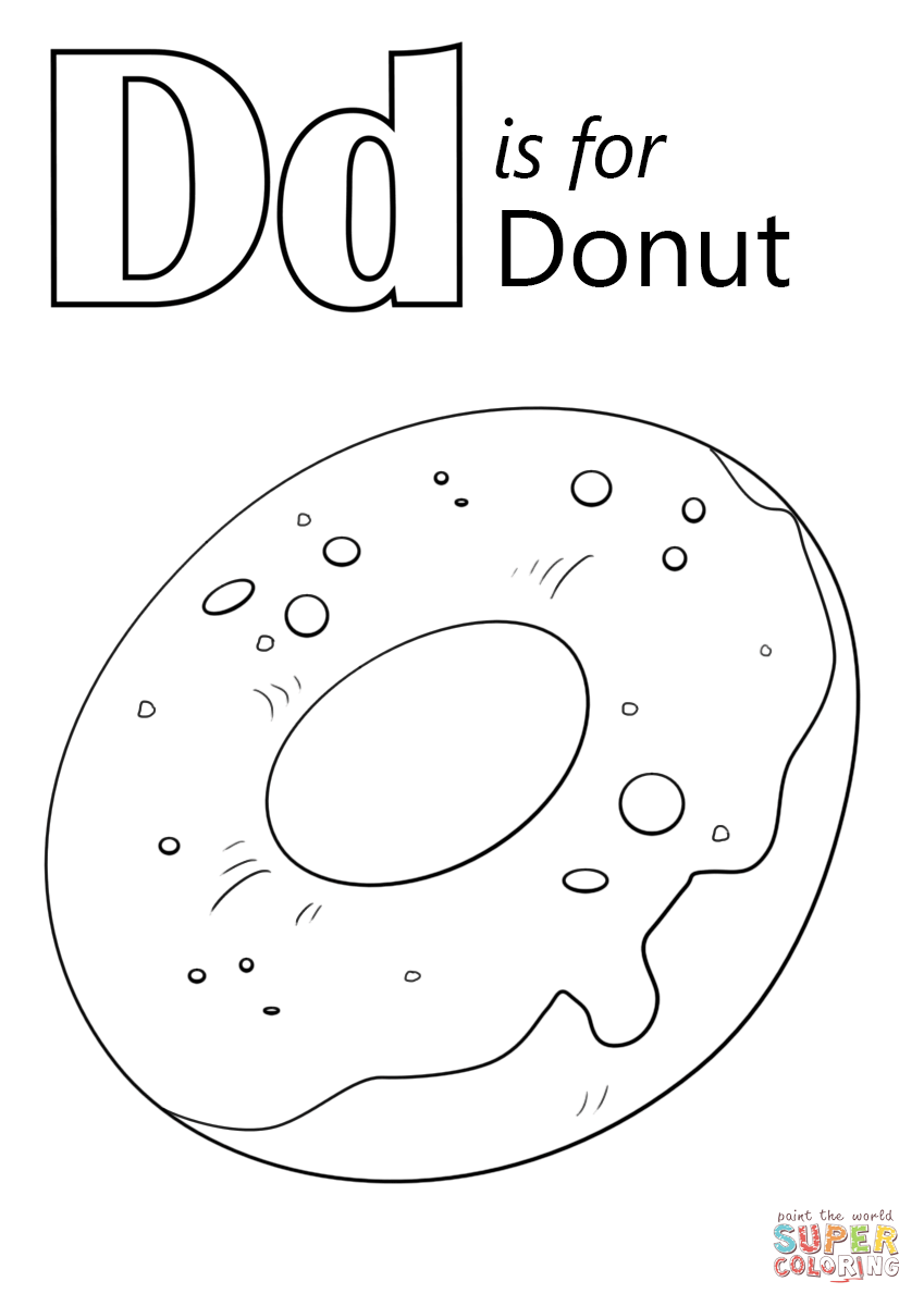 letter d coloring page for toddlers alphabet coloring pages letter d dinosaur coloring d letter toddlers for page coloring