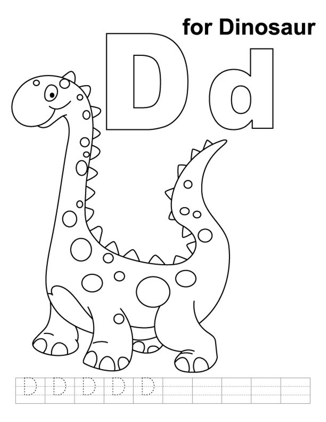 letter d coloring page for toddlers coloring pages letter d kids crafts for kids to make page toddlers d coloring letter for
