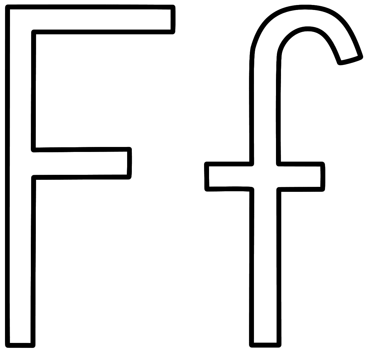 letter f coloring sheet letter f coloring pages of alphabet f letter words for f sheet coloring letter