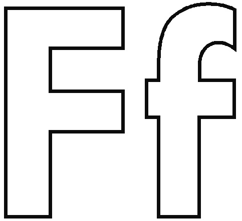 letter f for coloring free letter f printable coloring pages for preschool f letter coloring for