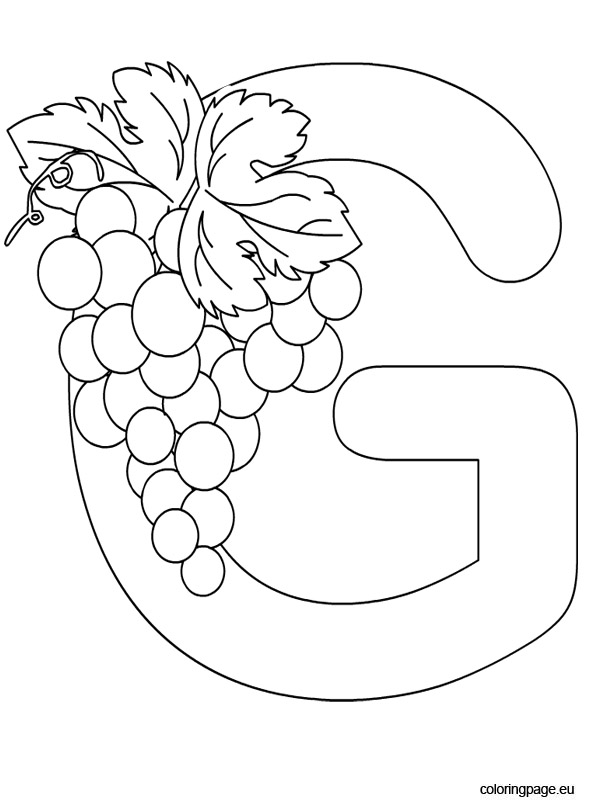 letter g coloring pages printable alphabet letter g coloring page pages letter printable g coloring