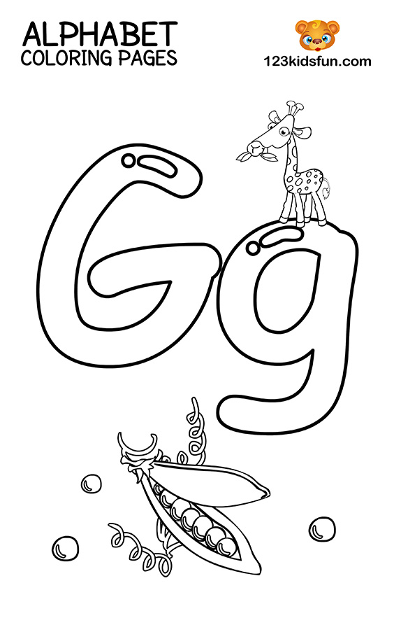 letter g coloring pages printable free printable alphabet coloring pages for kids 123 kids printable pages letter g coloring