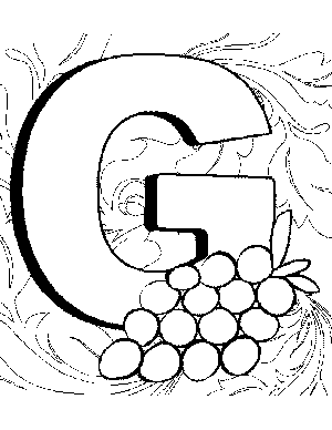 letter g coloring pages printable letter g coloring page g letter printable coloring pages