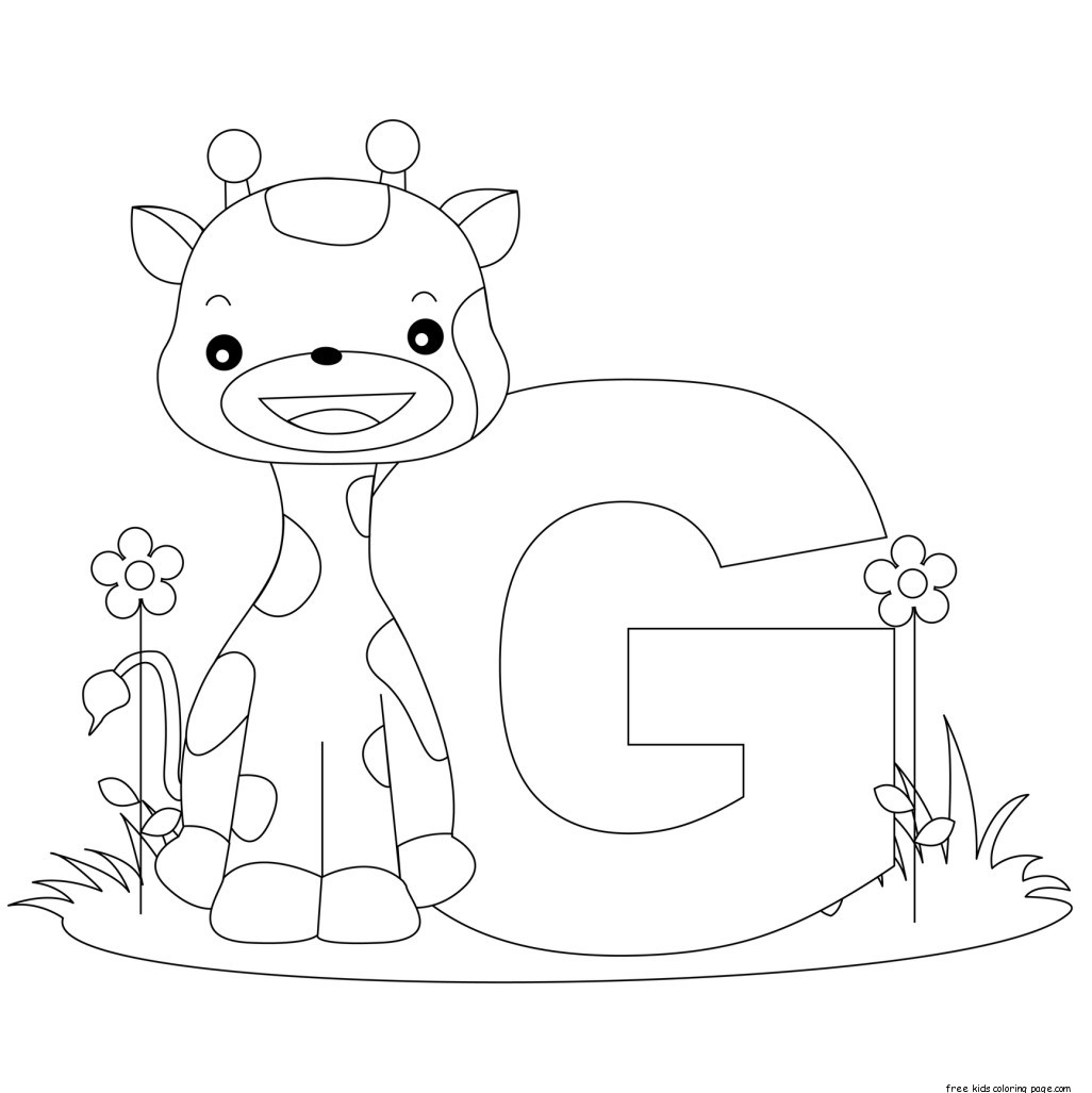 letter g coloring pages printable letter g coloring pages to download and print for free coloring g pages letter printable