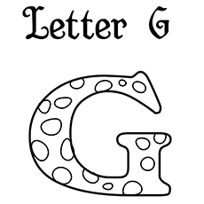 letter g coloring pages printable letter g gorilla coloring page get coloring pages g coloring letter pages printable