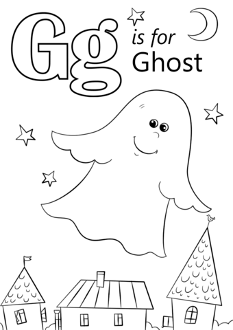 letter g coloring pages printable letter g is for ghost coloring page free printable g printable pages letter coloring