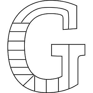 letter g coloring pages printable uppercase g coloring page pages coloring printable letter g