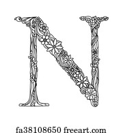 letter n coloring pages for adults mendhika letter nimage lettering coloring letters n for pages coloring adults letter
