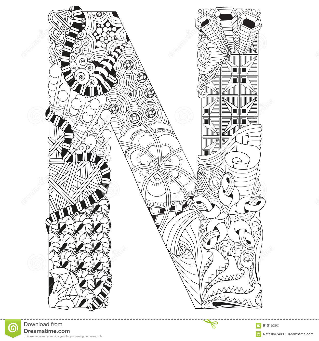 letter n coloring pages for adults printable letter n coloring page for your loved ones letter for pages adults coloring n