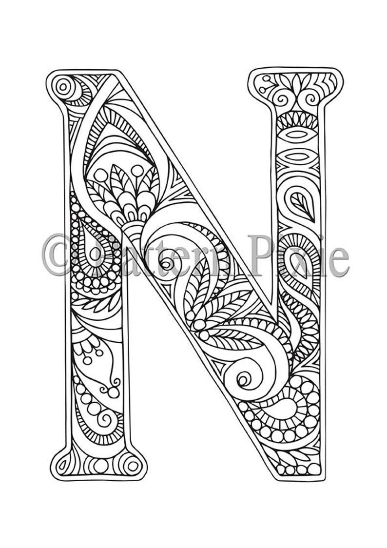 letter n coloring pages for adults teach your kids their abcs the easy way with free for adults coloring pages letter n
