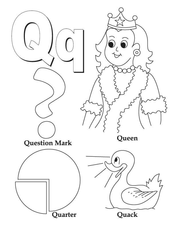 letter q coloring sheet letter q is for quail coloring page free printable sheet coloring q letter