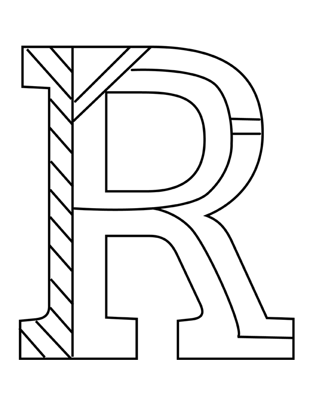letter r coloring pages letter r coloring pages collection whitesbelfast pages r letter coloring