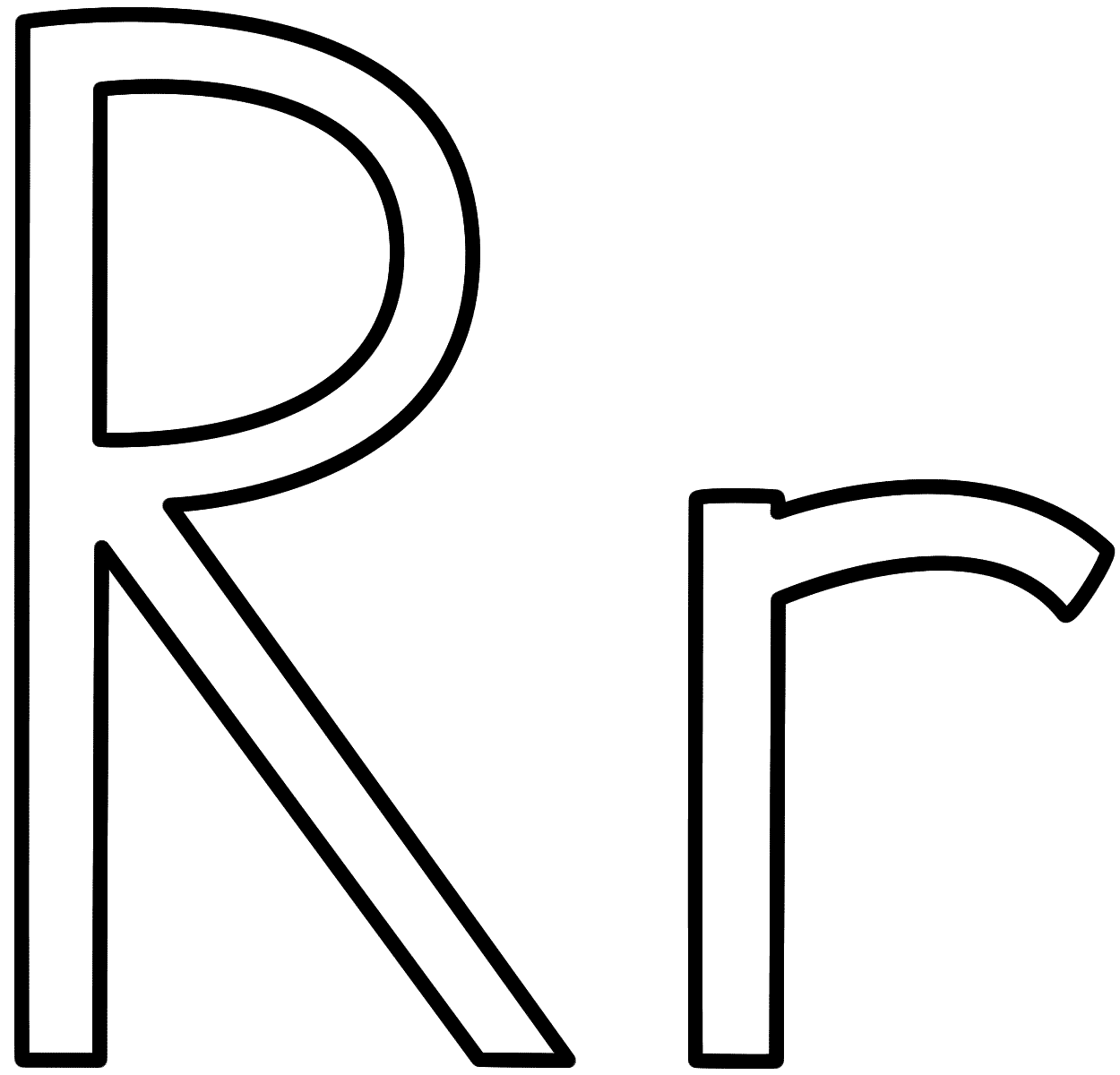 letter r coloring pages letter r coloring pages to download and print for free r letter pages coloring
