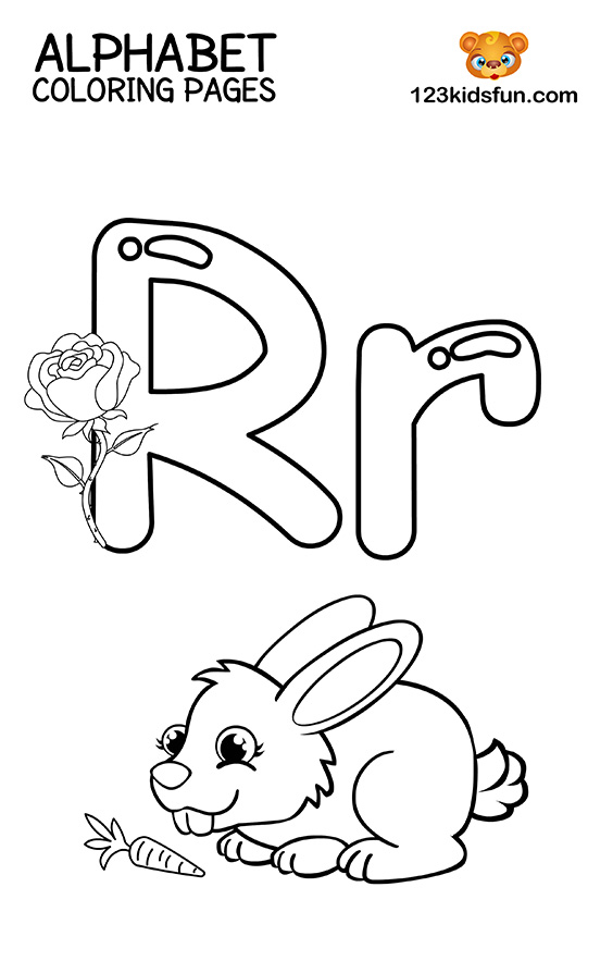 letter r coloring sheet free printable alphabet coloring pages for kids 123 kids r letter coloring sheet