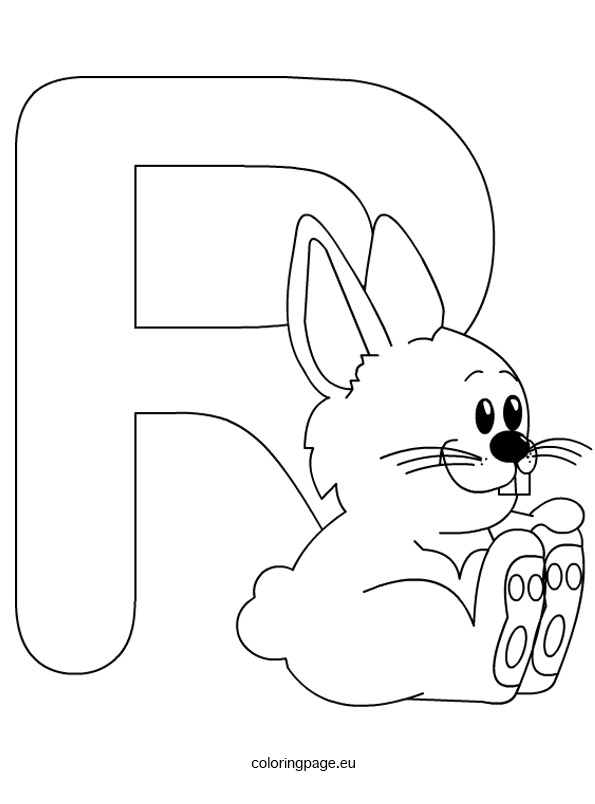 letter r coloring sheet letter r coloring page sheet letter r coloring