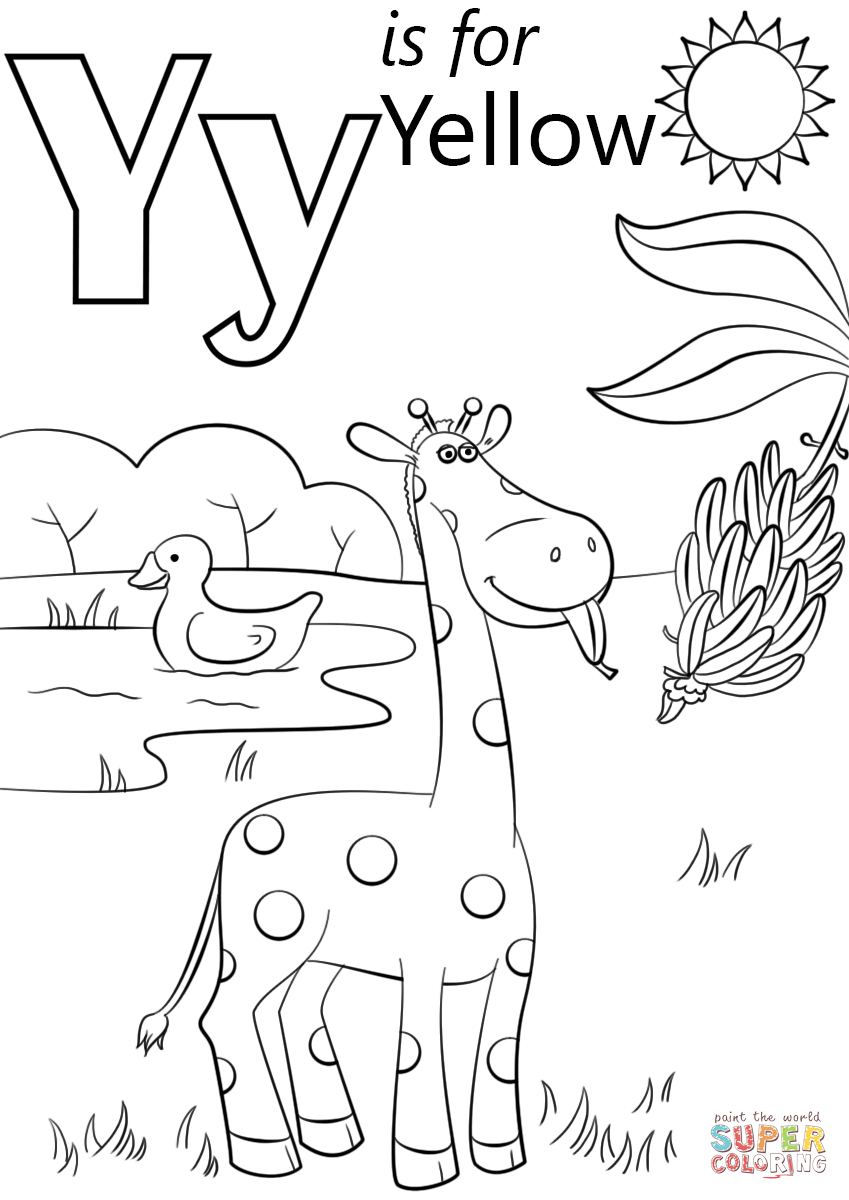 letter y coloring sheet free printable letter y coloring pages coloring home letter sheet coloring y