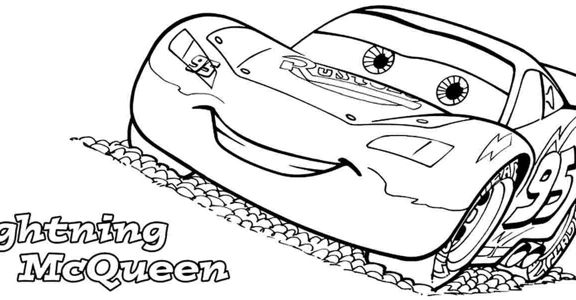 Lightning mcqueen coloring pages pdf