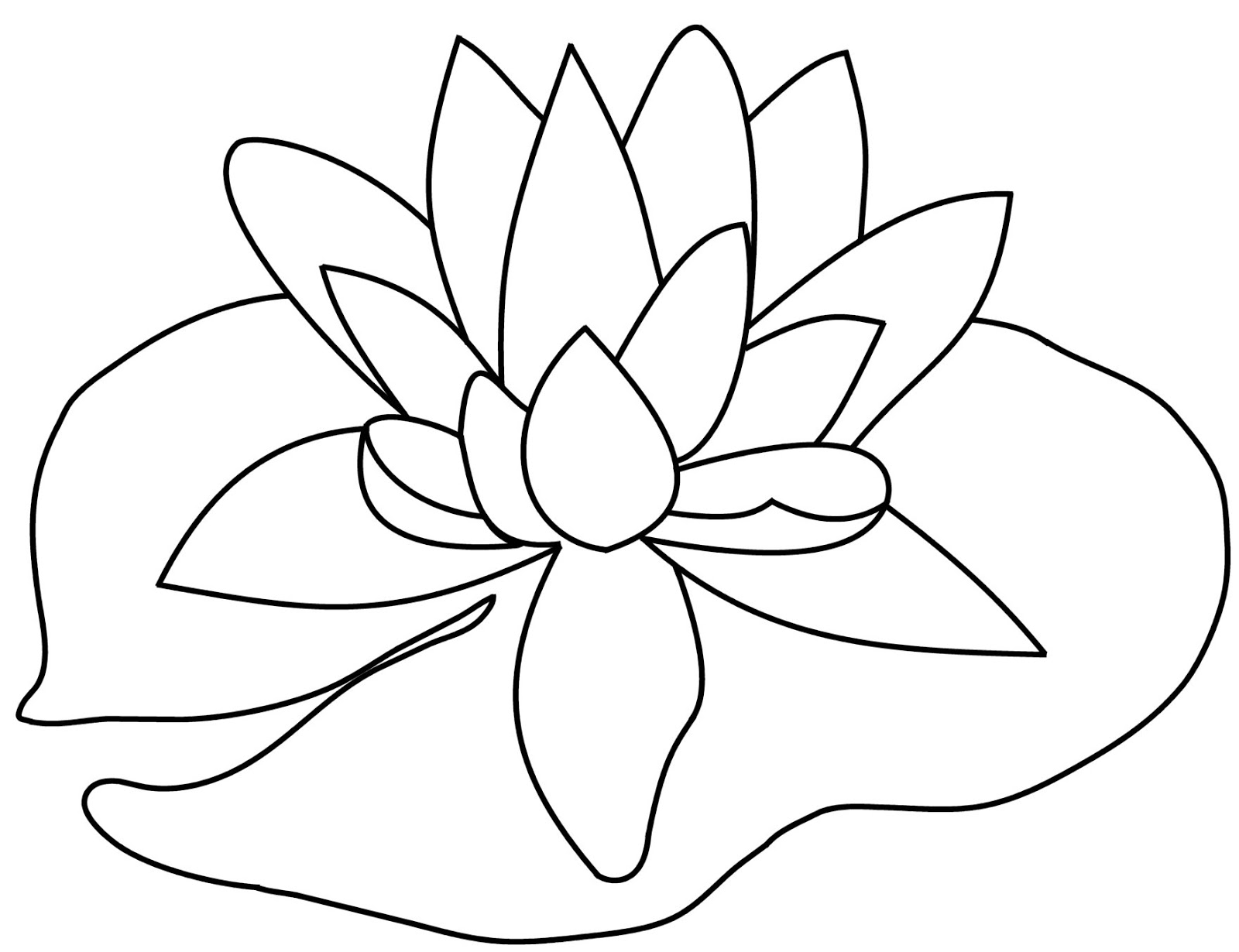 lily pad flower coloring pages pond coloring pages lily pad flower free printable pad pages lily coloring flower