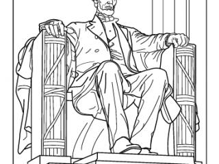 lincoln memorial coloring page historic places coloring pages and pictures for kids coloring lincoln memorial page