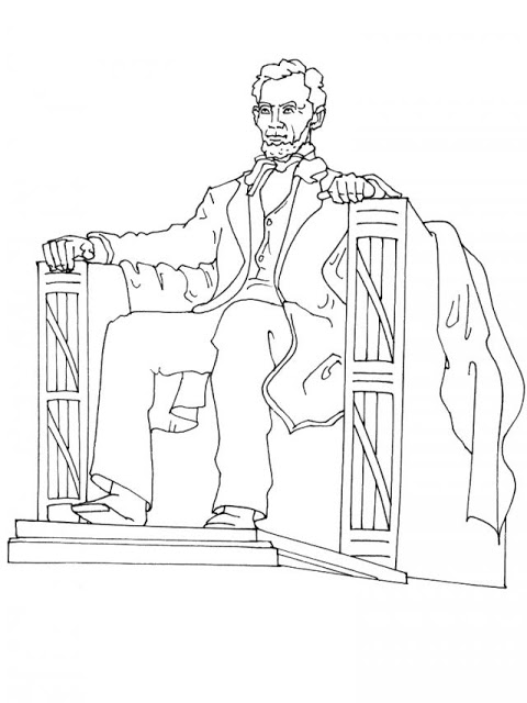 lincoln memorial coloring page presidents39 day coloring page abraham lincoln memorial page lincoln memorial coloring