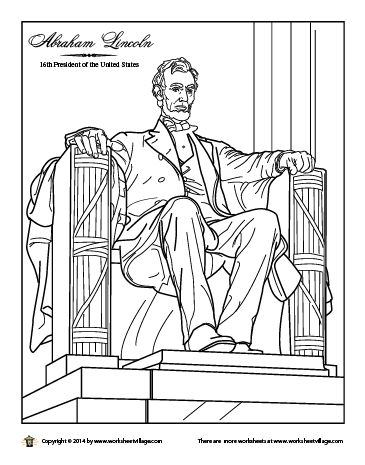 lincoln memorial coloring page the lincoln memorial coloring page free printable memorial lincoln page coloring