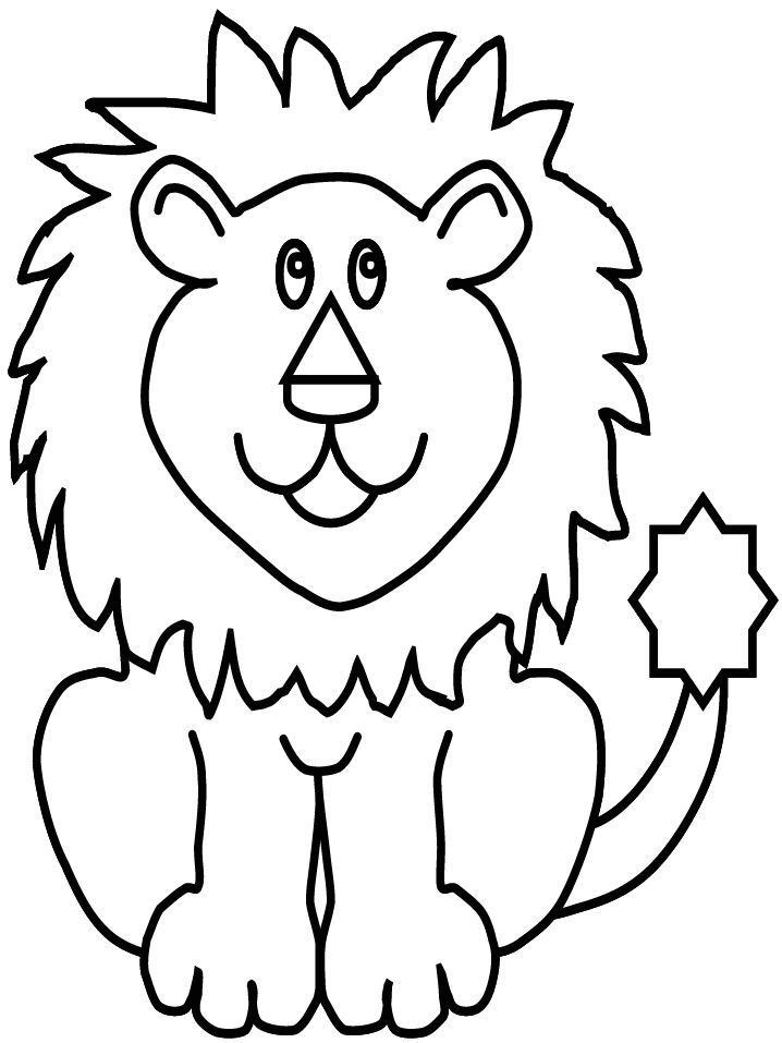 lion coloring pages free printable lion coloring pages for kids pages lion coloring