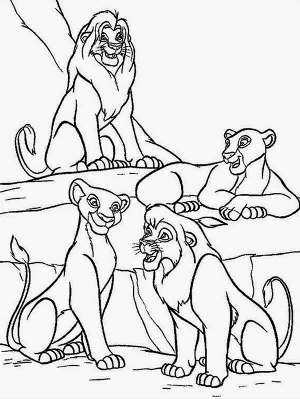 lion king 2 coloring pages coloring pages the lion king picture 2 2 pages lion coloring king