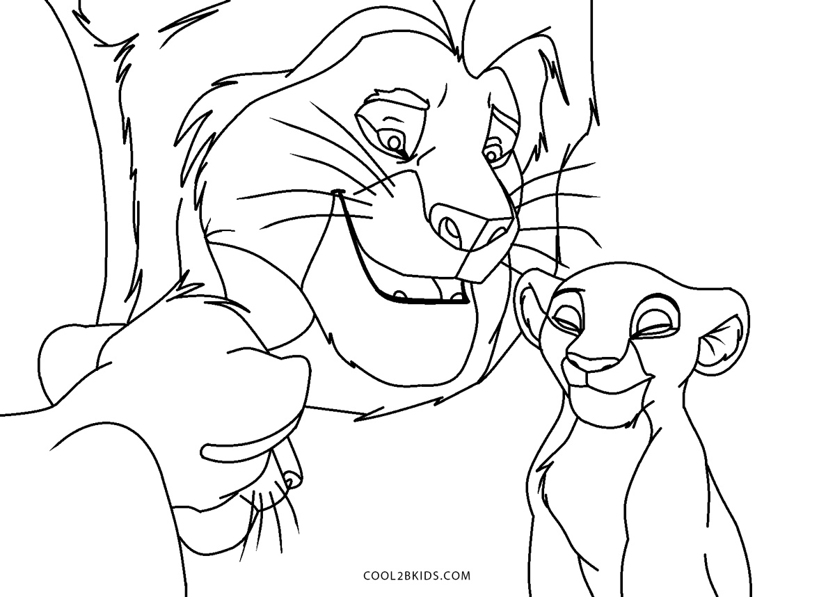 lion king 2 coloring pages free printable lion king coloring pages for kids coloring 2 king pages lion
